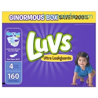 ihocon: Luvs Ultra Leakguards Diapers Size 4, 160 Count
