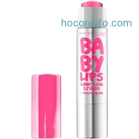 ihocon: Maybelline New York Baby Lips Color Balm Crayon, Pink Smooch, 0.09 Ounce