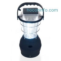 ihocon: Solar Lantern, LED Camping Lantern by Wakeman Outdoors (Emergency Light, Camping Gear for Hiking, Fishing, and Outages)