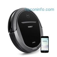 ihocon: Ecovacs DEEBOT M81Pro Smart Robotic Vacuum Cleaner with Strong Suction for Pet Hair, Bare Floors and Low-Pile Carpet, Wifi Connected, Works with Alexa