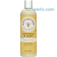 ihocon: Burt's Bees Baby Shampoo & Wash, Fragrance Free, 12 Ounces (Pack of 3) (Packaging May Vary)