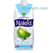 ihocon: Naked Juice 100% Organic Pure Coconut Water, USDA Organic Certified, NON GMO Project Verified, 16.9 Ounce, 12 Pack
