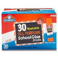 ihocon: Elmer's All Purpose School Glue Sticks, Washable, 30 Pack, 0.24-ounce sticks