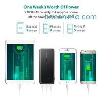 ihocon: RAVPower 22000mAh 3-Port Power Bank行動電源