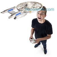 ihocon: Star Trek U.S.S Enterprise NCC-1701-A, Remote Control Drone with Lights and Sounds星艦迷航遙控飛行器