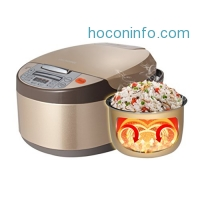 ihocon: Elechomes CR501 Electric Rice Cooker, Steamer and Warmer 10-Cups (Uncooked)多功能電飯鍋