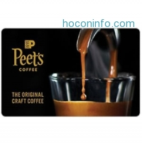 ihocon: $25 Peet's Coffee Gift Card只賣$20 - Fast Email delivery