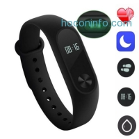 ihocon: Mi Band 2 Smart Watch w Heart Rate Monitor Waterproof心率監測運動手環
