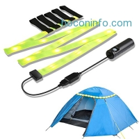ihocon: YOUKOYI Rechargeable LED Camping Strip Lights充電式露營帳篷燈條