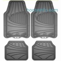 ihocon: Armor All 78841 4-Piece Grey All Season Rubber Floor Mat汽車地墊