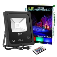 ihocon: LE 10W RGB LED Flood Lights