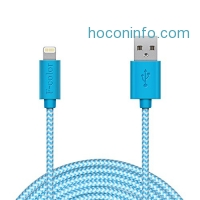 ihocon: F-color MFi Braided Apple Lightning Cable 10Ft