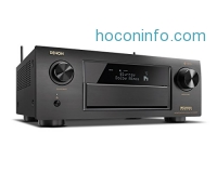 ihocon: Denon AVR-X6300H 11.2-Channel Full 4K Ultra HD and 3D Pass-Through Network A/V Home Theater Receiver with Bluetooth and Wi-Fi (Black)