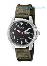 ihocon: Citizen 光動能男錶Men's BM8180-03E Eco-Drive Analog Japanese Quartz Green Watch