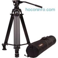 ihocon: E-Image 2-Stage Aluminum Tripod with GH03 Head