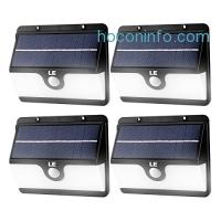 ihocon: LE 30 LED Solar Motion Sensor Light( Pack of 4 )太陽能動作感應庭園燈