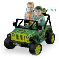 ihocon: Power Wheels Nickelodeon Teenage Mutant Ninja Turtles Jeep Wrangler 12V Battery-Powered Ride-On - Walmart.com