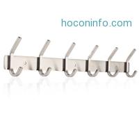 ihocon: HOMFA Coat Hook Wall Mounted不銹鋼衣帽架