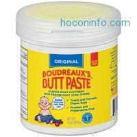 ihocon: Boudreaux's Butt Paste Diaper Rash Ointment, Original, 16 Ounce尿布疹膏