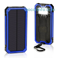 ihocon: GRDE 15000mAh Solar Battery Power Bank太陽能行動電源/充電寶