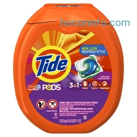 ihocon: Tide PODS Spring Meadow Scent HE Turbo Laundry Detergent Pacs, 81 count