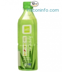 ihocon: ALO Appeal Aloe Vera Juice Drink, Pomelo + Limon + Pink Grapefruit, 16.9 Ounce (Pack of 12)