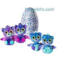 ihocon: Hatchimals Surprise – Peacat – Hatching Egg with Surprise Twin Interactive Hatchimal Creatures by Spin Master 魔法寵物蛋雙胎胎
