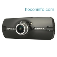 """ihocon: Rexing F9 2.7"""" LCD FHD 1080p 170° Wide Angle Car Dashboard Camera with G-Sensor, WDR, Night Vision, Motion Detection 汽車行車記錄器"""
