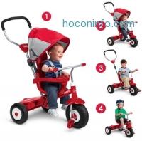 ihocon: Radio Flyer 4合1三輪車 All-Terrain Stroll 'N Trike Ride-On