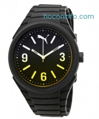 ihocon: PUMA Gummy Black Dial Black Silicone Men's Watch