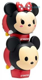 ihocon: Lip Smacker Disney Tsum Tsum Lip Balm Duo, Marshmallow Pop and Strawberry Lollipop, 2 Count
