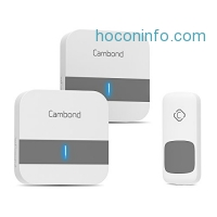 ihocon: Cambond Wireless Doorbell, 52 Melodies電子門鈴
