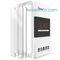 ihocon: Trianium iPhone 7 Tempered Glass Screen Protector (2 Pack + Guidance Frame)