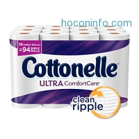 ihocon: Cottonelle Ultra Comfort Family Roll Toilet Paper, Bath Tissue, 36 Toilet Paper Rolls