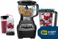 ihocon: Ninja Mega Kitchen System 72-Oz. Blender + $30 Best Buy e-Gift Car