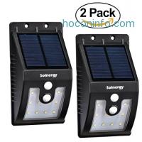 ihocon: Solnergy Waterproof LED Solar Sensor Light 太陽能庭園燈