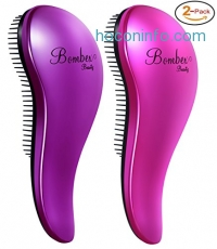 ihocon: Deluxe Detangling Hair Brush-2 Pack防打結梳子