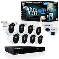 ihocon: Night Owl CL-HDA30-161022P-B 16 Channel 3MP Extreme HD Video Security System with 2 TB HDD & 8x3MP Bullet Cameras居家防盜監視系統