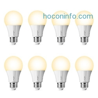 ihocon: Sengled Element Classic A19 8 Pack - 60W Equivalent Soft White (2700K) Smart LED Bulb (Compatible with Amazon Alexa, Google Assistant, Samsung SmartThings and Wink)