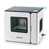 ihocon: Instone Inventor Pro 3D Printer with auto leveling function, adopt touchscreen and WIFI, bundled with PLA Filament in 1.75 mm Diameter and 1 kg Spool Weight
