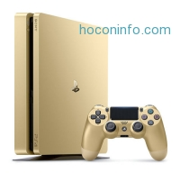ihocon: Sony Playstation 4 Slim 1TB Limited Edition Gold Console限量金色版