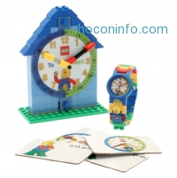 ihocon: LEGO Time Teach Set with Minifigure-Link Watch