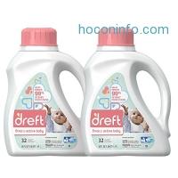 ihocon: Dreft Stage 2: Active Hypoallergenic Liquid Baby Laundry Detergent (HE), 50 Ounces (32 Loads), 2 Count
