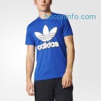 ihocon: adidas Trefoil Graphic Tee Men's Blue