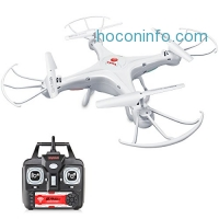 ihocon: DoDoeleph Syma X5A-1 Explorers 2.4Ghz 4CH 6-Axis Gyro RC Quadcopter Toys Drone RTF Without Camera遙控飛行器
