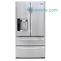 ihocon: LG Electronics 26.7 cu. ft. French Door Refrigerator in Stainless Steel