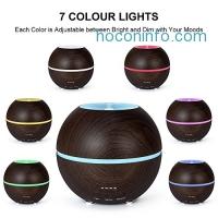 ihocon: MIU COLOR 300ml Essential Oil Diffuser, Ultrasonic Cool Mist Humidifier超音波精油擴香機/室內加濕器