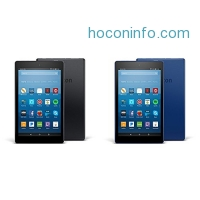 ihocon: Fire HD 8 2-pack, 16GB - Includes Special Offers (Black/Marine Blue)