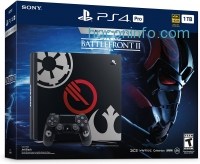 ihocon: PlayStation 4 Pro 1TB Limited Edition Console - Star Wars Battlefront II Bundle