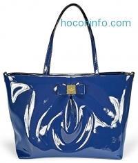 ihocon: Kate Spade New York Veranda Place Patent Blossom Baby Bag - French Navy